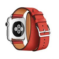 Ремешок для Apple Watch 38/40mm Hermes Double Tour Red, Цена: 929 грн, Фото
