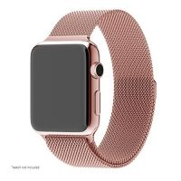 Ремешок Apple Watch 38/40/42/44mm with Milanese Loop (magnetic) Rose Gold, Цена: 481 грн, Фото