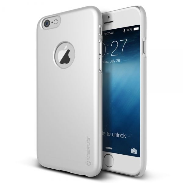 Чехол Verus iPhone 6 4.7 Case Super Slim Hard Series Pearl White - Фото 1