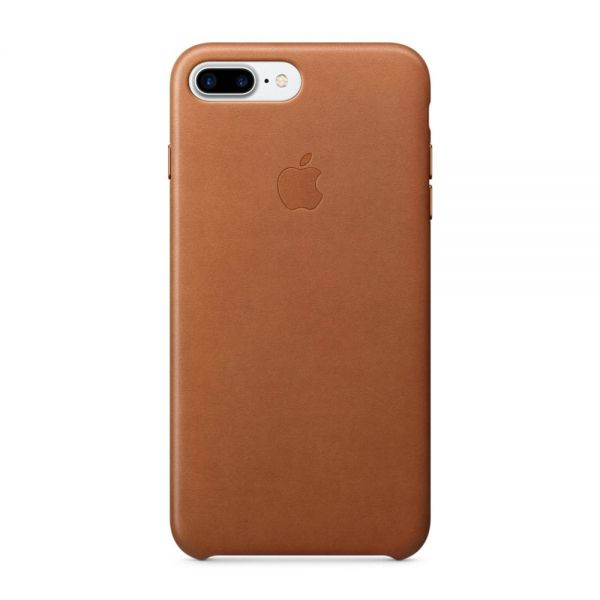 Кожаный чехол Apple Leather Case Saddle Brown для iPhone 7/8 Plus - Фото 1