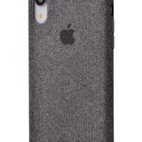 Чехол Textile cover 360 Protect iPhone Xr Dark Grey, Цена: 502 грн, Фото