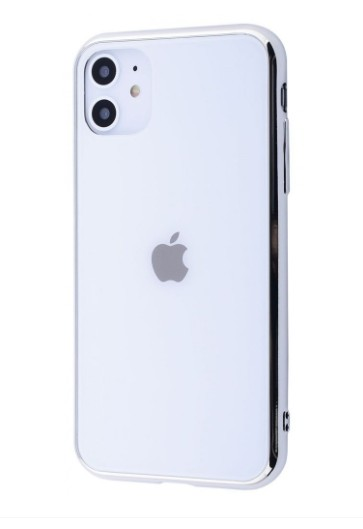 Чехол Glass iPhone case для iPhone 11 White - Фото 1