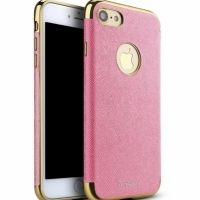Чехол матовый iPaky Pink Full Cover For iPhone 7.7 plus / 8.8 plus, Цена: 377 грн, Фото