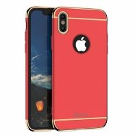 Чехол матовый iPaky Red Full Cover For iPhone X/XS / iPhone 10, Цена: 502 грн, Фото