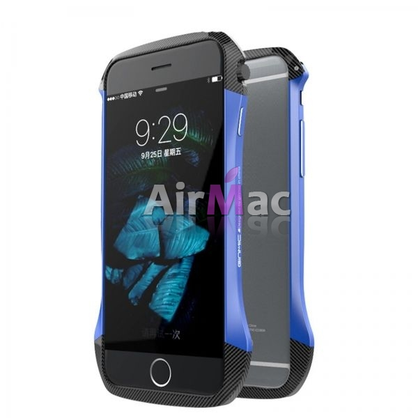 фото Бампер GINMIC Aluminum Carbon Fiber For iPhone 6.6S Blue