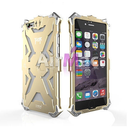 фото Бампер-Чехол for iPhone 6 Luxury Metal Thor Gold