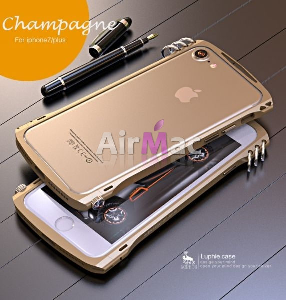 фото Бампер Alien X1 rotary screw for iPhone 7.7 plus/ 8.8 plus Champagne