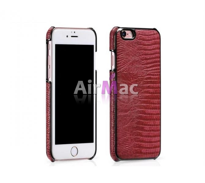 фото HOCO Series Classic Crocodile Leather Back Case for iPhone 6.6s. 6 plus - Red