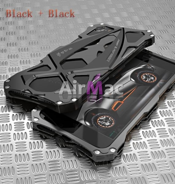 фото Чехол iphone 7 & 7 plus Roadster aluminum metal Black
