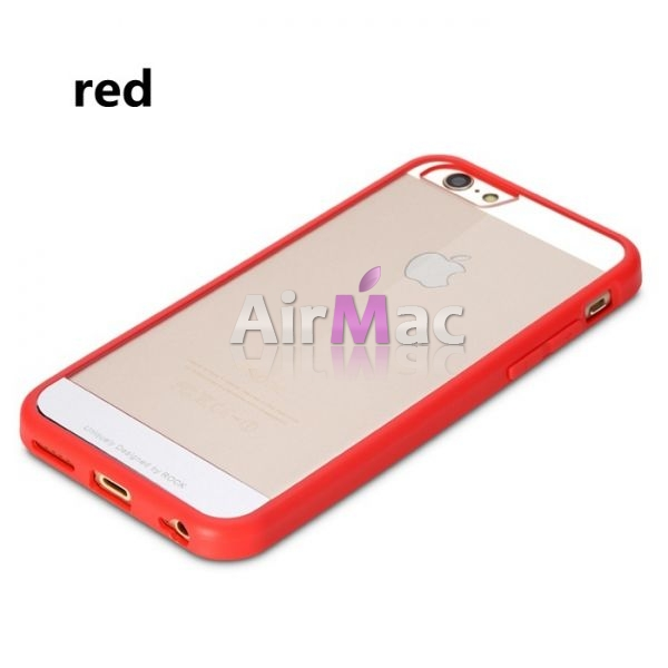 фото Чехол Rock Enchanting Ultra Hybrid Soft Bumper iPhone 6. iPhone 6 plus Red