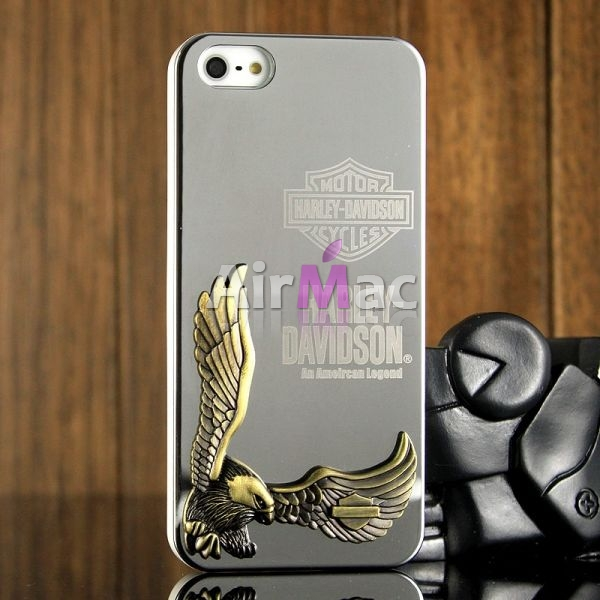 фото Harley Davidson 3D Case Silver for iPhone 4.4s и для iPhone 5