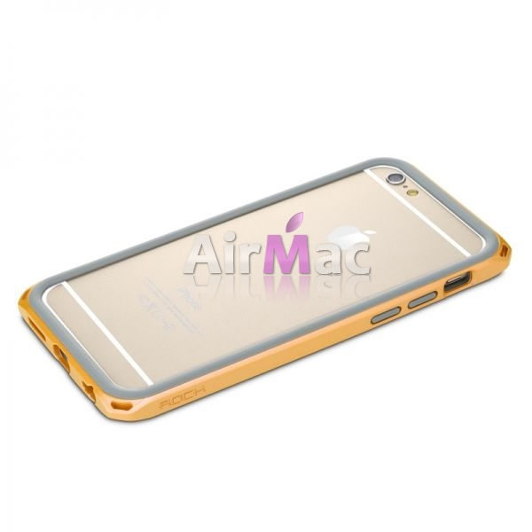 фото Бампер Rock New Cover Ultra-Thin For iPhone 6 4.7  - Orange