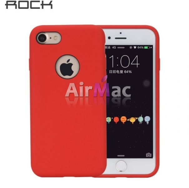 фото Чехол для iPhone 6.6s Rock Silicone Case - Red