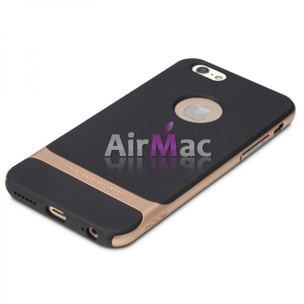 фото Чехол Rock Neo Hybrid Soft Case  with Bumper for iPhone 6 / iPhone 6 plus (golden)