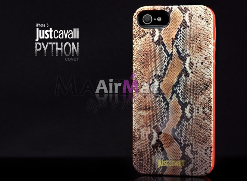 фото Justcavalli silicone iPhone 4.4s.5.5s case (python)