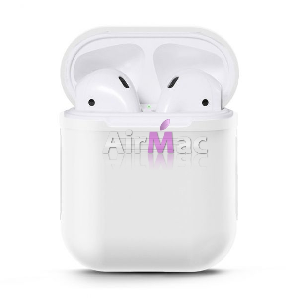 фото Чехол для AirPods silicone case White