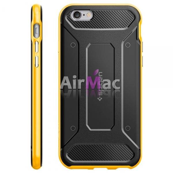 фото Чехол SGP Case Neo Hybrid Carbon Yellow для iPhone 6/6S