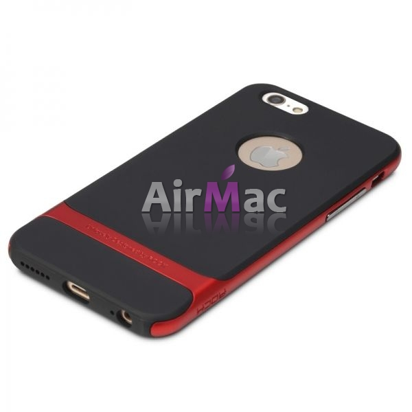 фото Чехол Rock Neo Hybrid Soft Case  with Bumper for iPhone 6 / iPhone 6 plus (red)