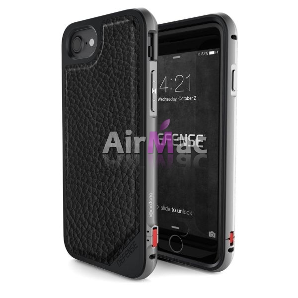 фото X-Doria Defense Lux iPhone 7/7 Plus Fitted Hard Shell Case - Black
