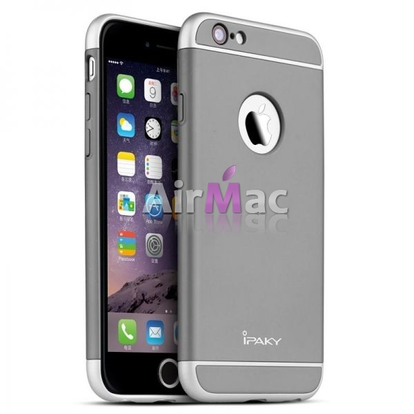 фото Чехол iPaky Grey Full Cover For iPhone 6.6S