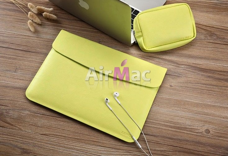 фото Чехол конверт для MacBook air 13.3 pro 13 retina Yellow