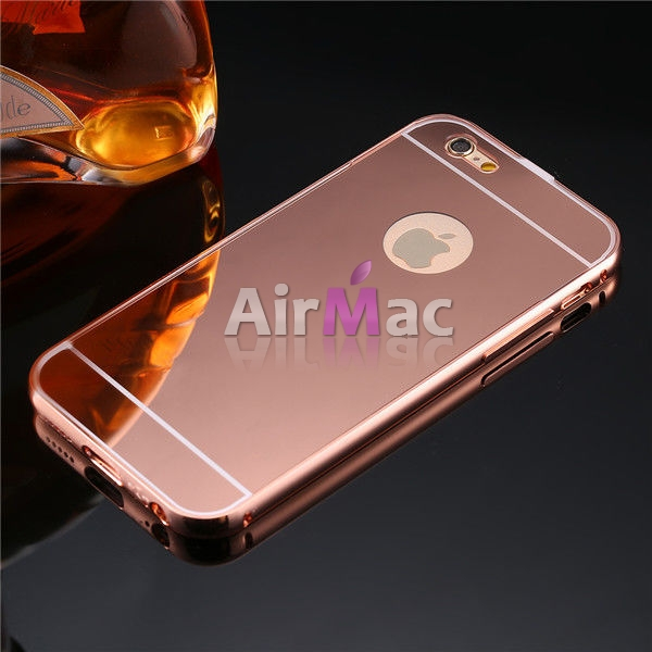 фото Чехол глянец Mirror Rose Gold case for iPhone 6.6s.& iPhone 7