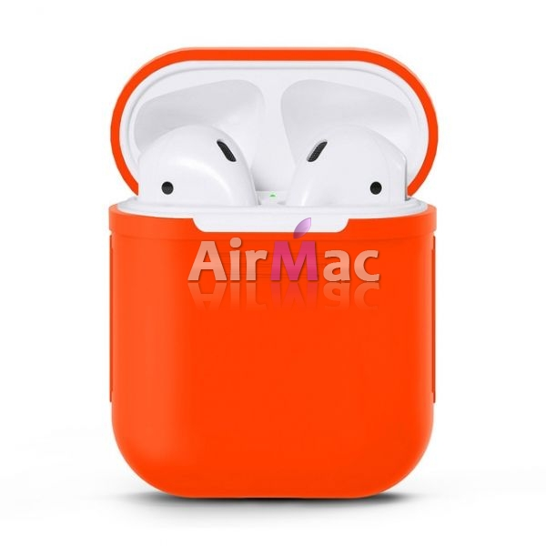 фото Чехол для AirPods silicone case Red