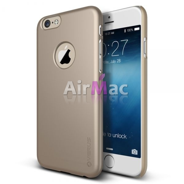 фото Чехол Verus iPhone 6 4.7 Case Super Slim Hard Series Shine Gold
