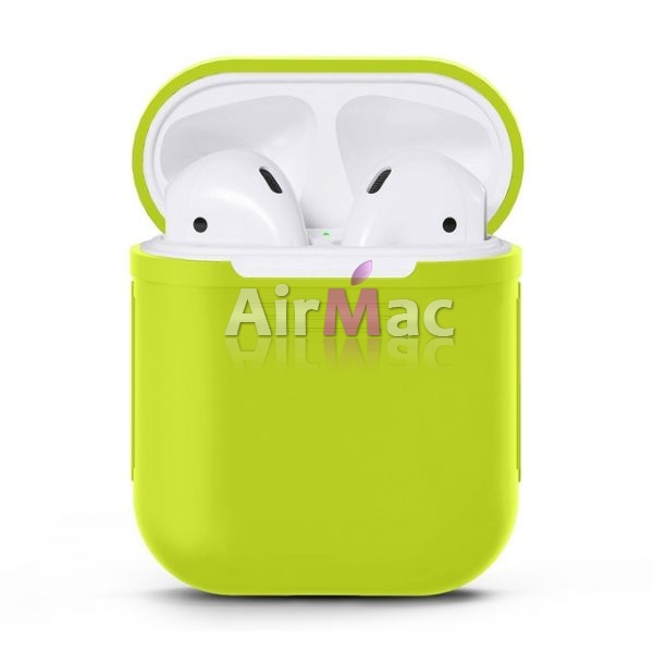 фото Чехол для AirPods silicone case Green