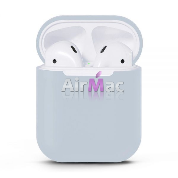 фото Чехол для AirPods silicone case Sky Blue