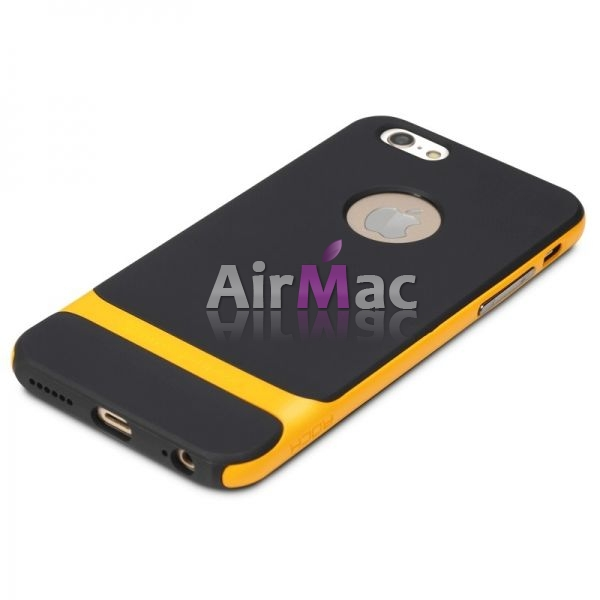 фото Чехол Rock Neo Hybrid Soft Case  with Bumper for iPhone 6 / iPhone 6 plus (yellow)