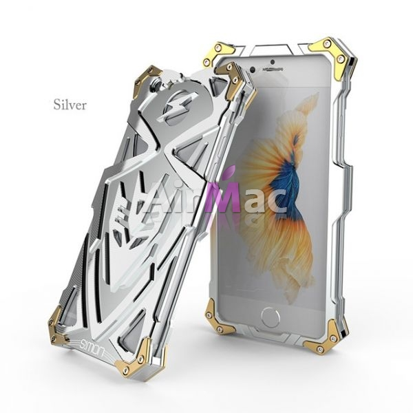 фото Чехол for iPhone 7. 7 plus Luxury Metal Simon Silver