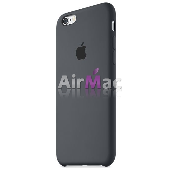 фото Чехол для iPhone 6.6s Silicone Case - Charcoal Gray