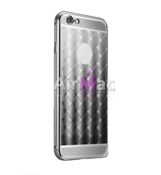 фото Чехол - Бампер Cross aluminum Silver for iPhone 5.5s.6.6s