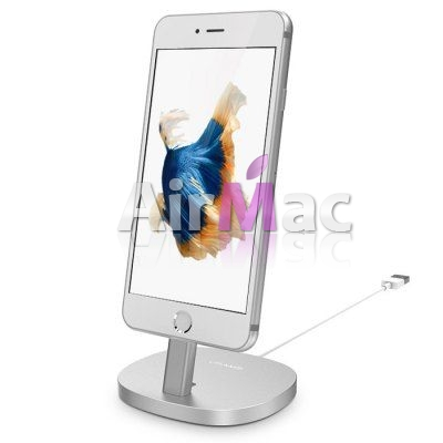 фото Подставка USAMS Power Charger Dock for iPhone. iPad. iPod - Silver
