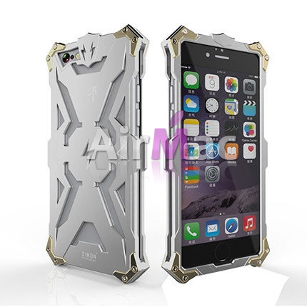 фото Бампер-Чехол for iPhone 6 Luxury Metal Thor Silver