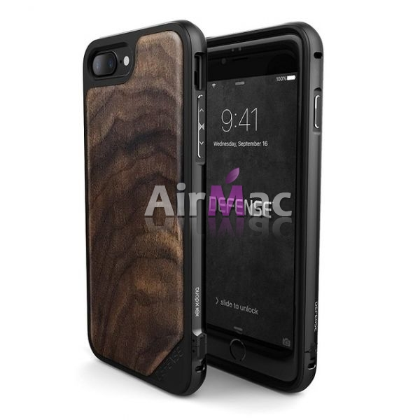 фото Чехол Defense Lux Wood Brown Series for iPhone 7. 7 plus