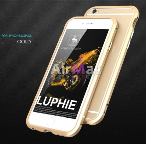 фото Бампер Luphie Ultra Luxury Gold for iPhone 6.6s