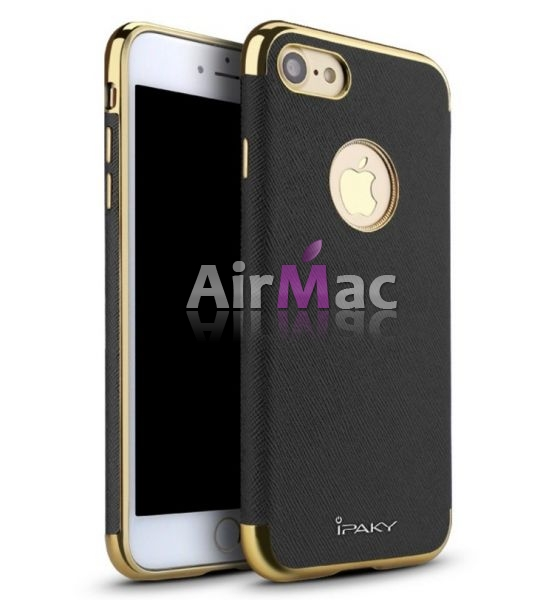 фото Чехол матовый iPaky Black Full Cover For iPhone 7. 7 plus