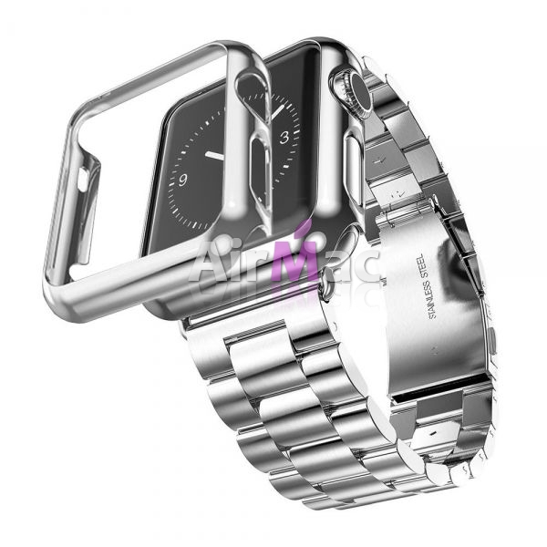 фото Браслет Steel Watch Band Silver For Apple Watch 38/42mm   HOCO накладка