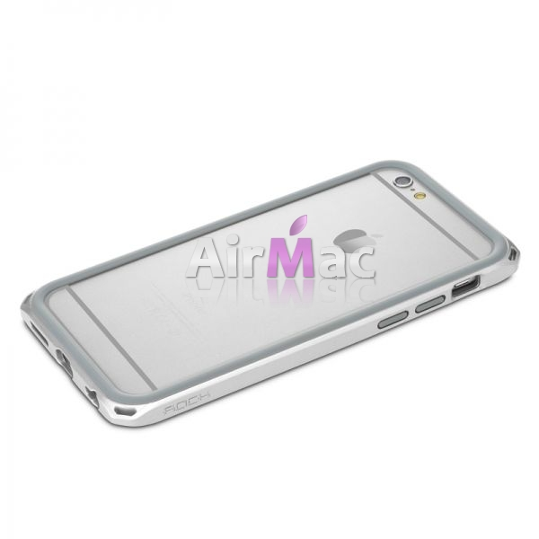 фото Бампер Rock New Cover Ultra-Thin For iPhone 6 4.7  - Silver